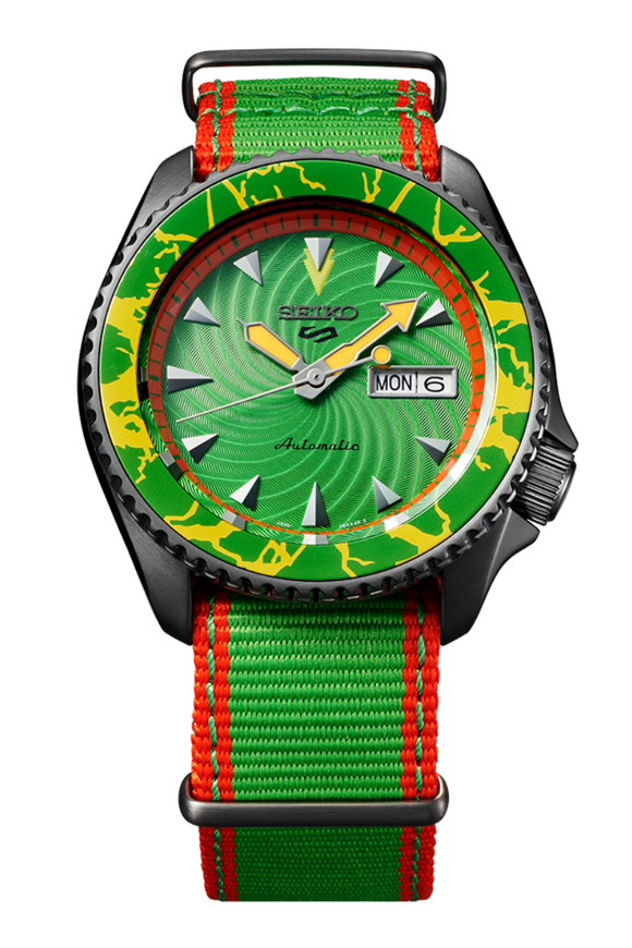 Seiko 5 Street Fighter Limited Edition Blanka SRPF23K1 Watch