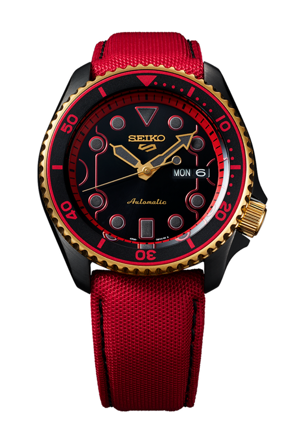 Seiko 5 Street Fighter Limited Edition Ken SRPF20K1 Watch