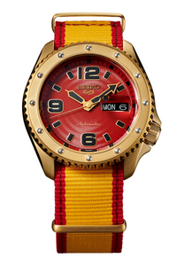 Seiko 5 Street Fighter Limited Edition Zangief 'Iron Cyclone' SRPF24K1 Watch