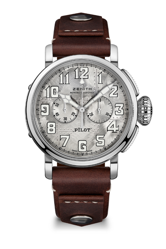 Zenith Pilot Type 20 Chronograph Silver Limited Edition 05.2430.4069/17.I011 (Deposit)