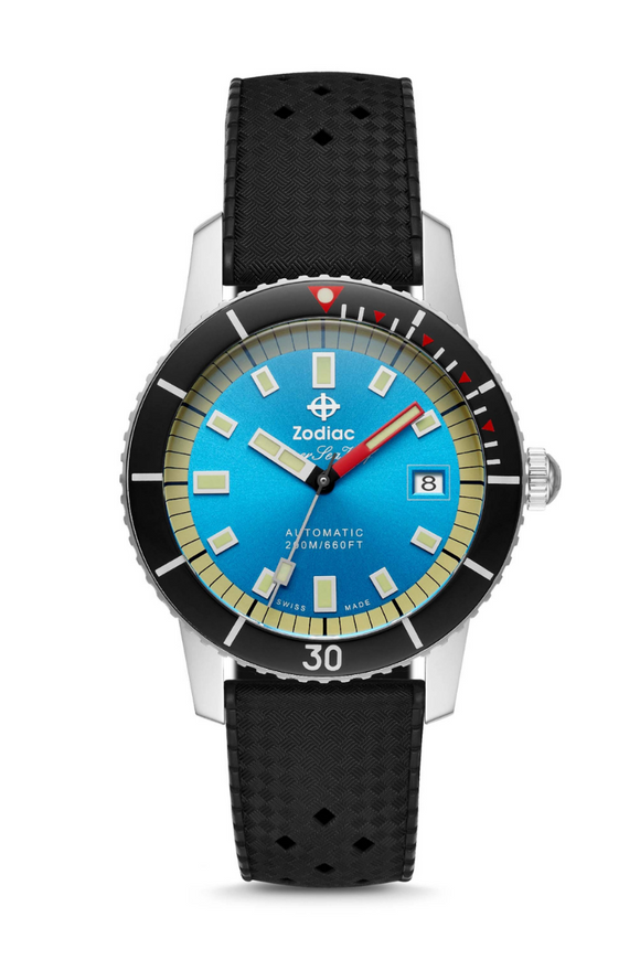 Zodiac Super Sea Wolf 53 Compression Dive Watch ZO9275
