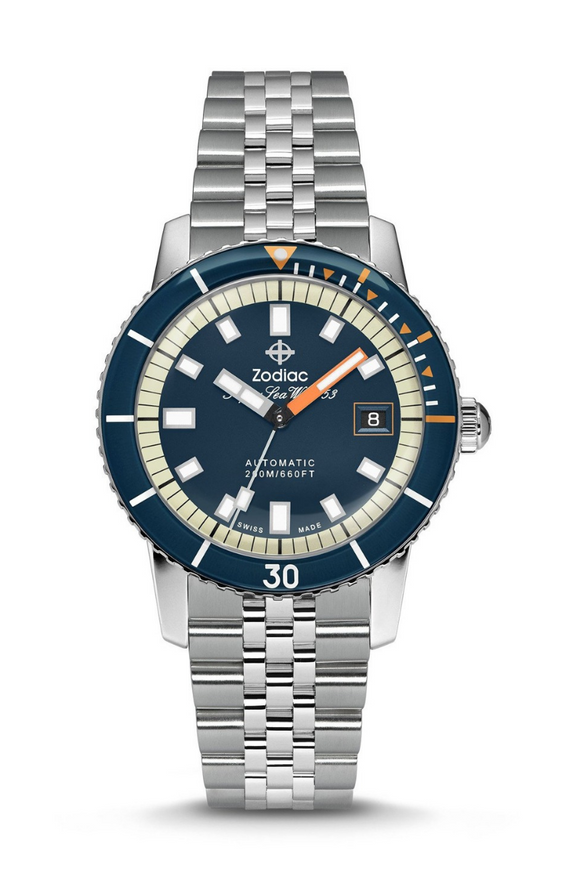 Zodiac Super Sea Wolf Dive Watch ZO9266