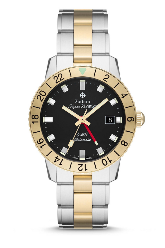 Zodiac Super Sea Wolf GMT Two-Tone ZO9406