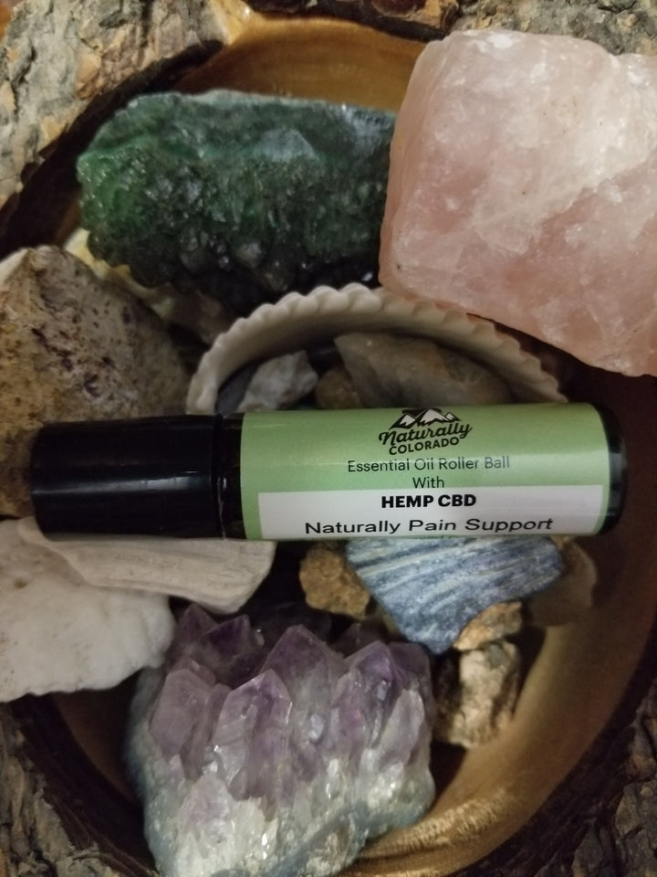 Full Spectrum Hemp CBD Topical Roll On's