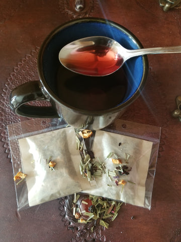 "Naturally Colorado - Naturally ""Me Time"" Tea - A blend of herbs and fruits to energize, reduce stress and renew balance."