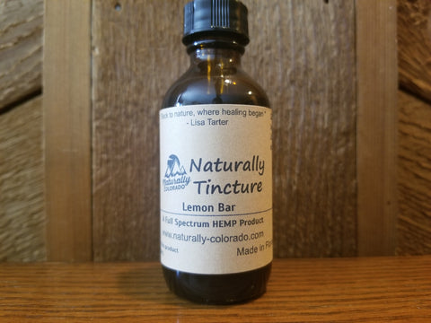 Naturally Tincture - HEMP CBD Tincture NEW LOW PRICE