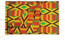 Kente Wrap Don't Break the Comb