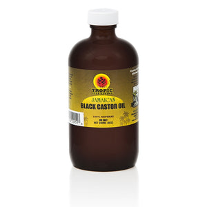 TROPIC ISLE LIVING Jamaican Black Castor Oil 8 oz 100% Natural