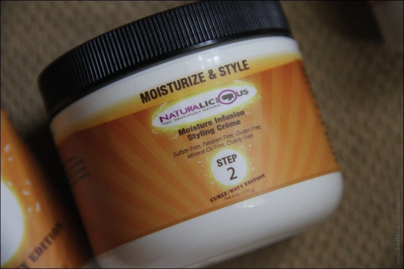 NATURALICIOUS Step 2: Moisture Infusion Styling Creme (Curly/Wavy)