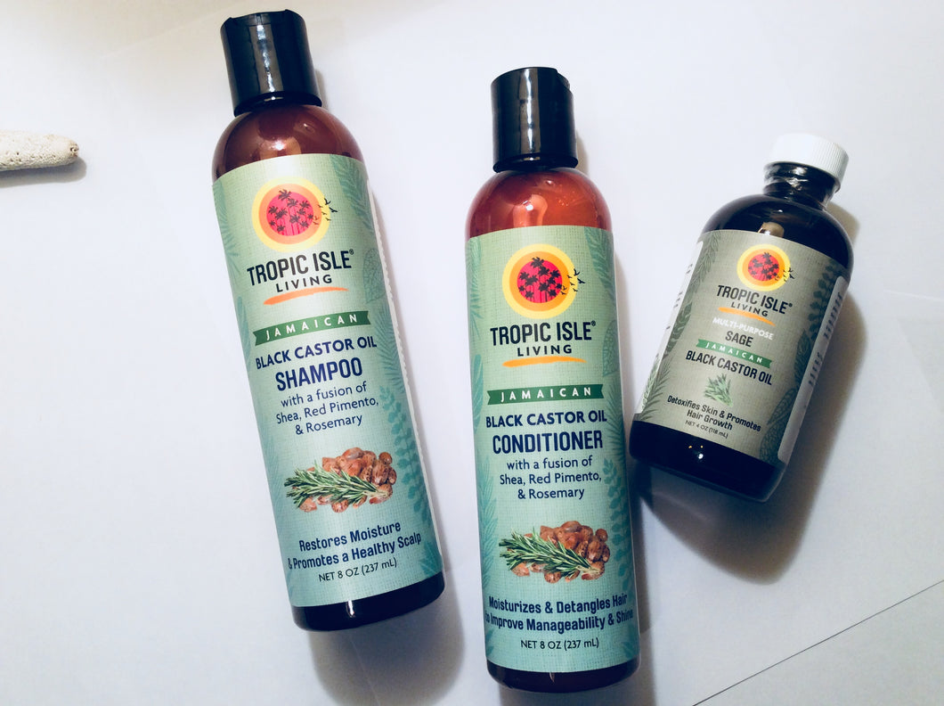 TROPIC ISLE LIVING  Basic Haircare Set