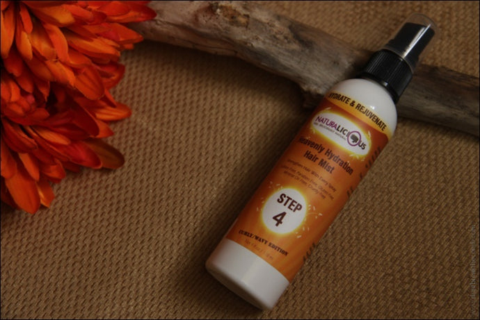 NATURALICIOUS Step 4: Heavenly Hydration Hair Mist (Curly/Wavy Edition)