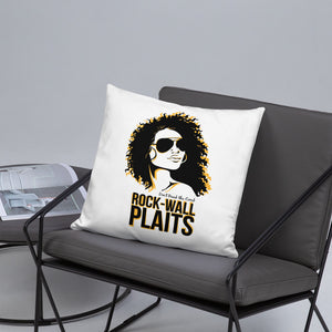 Rock Wall Plaits Pillow