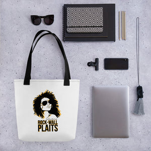 Rock Wall Plaits Tote bag