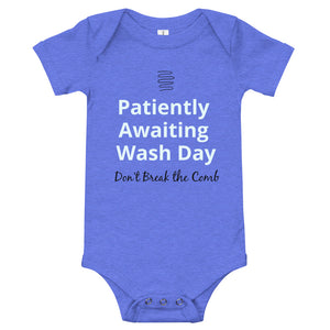 Wash Day Baby One-Piece Bodysuit