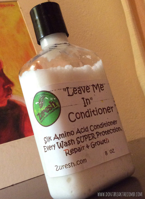 ZURESH Leave Me In Conditioner - Silk Protein 8 oz