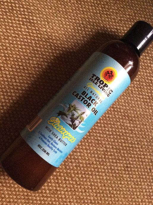 TROPIC ISLE LIVING Jamaican Black Castor Oil Shampoo with Shea Butter 8oz