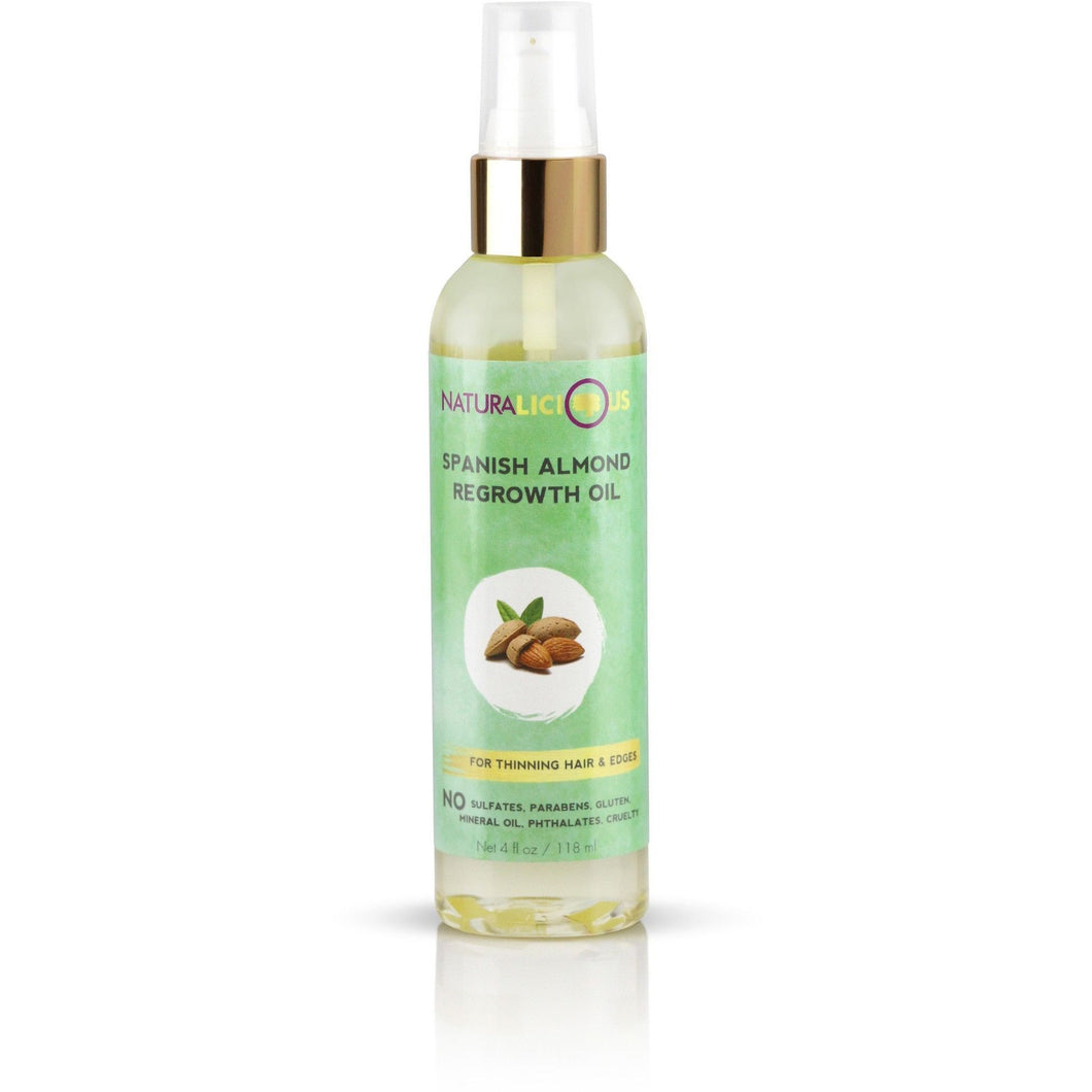 NATURALICIOUS Spanish Almond Regrowth Oil