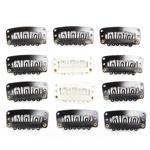 20Pcs U-shape Clips for Hair Extensions