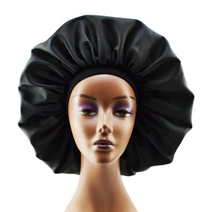 Large Satin Bonnet