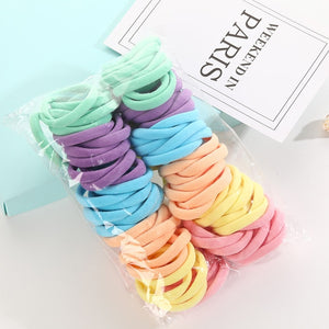 50 Pc Seamless Scrunchies