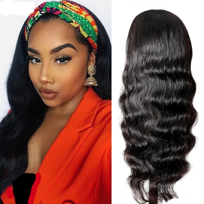Body Wave Headband Wig | Brazilian