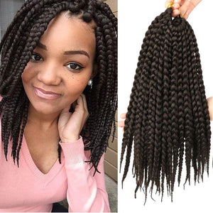 Synthetic Crochet Hair Extensions | Short Box Braids