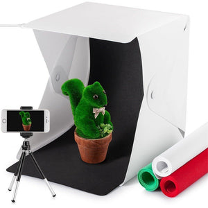 Portable LED Photo Studio