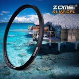 Circular Polarizing Lens Filter