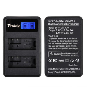 LP-E8 Batteries + Dual Battery Charger