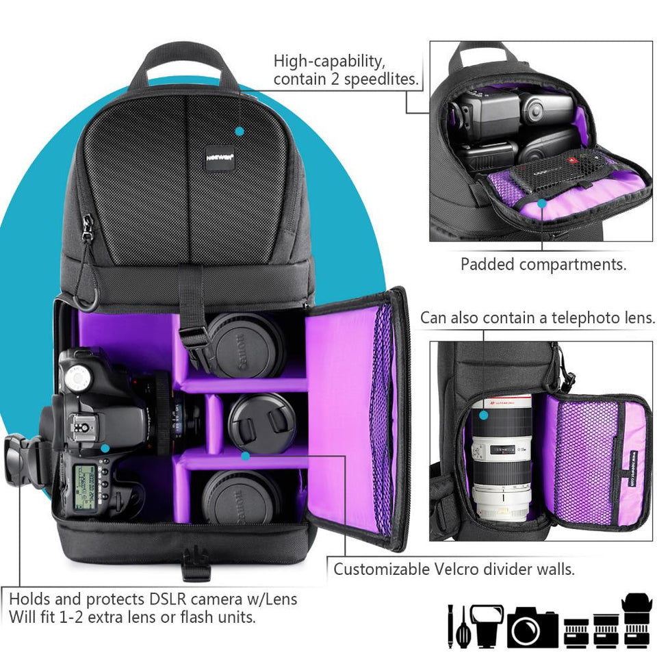 Professional Sling DSLR Backpack