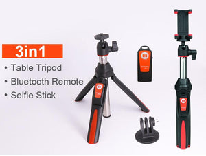 3 in 1 Bluetooth Selfie Stick