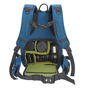 Water-Resistant Padded Camera Backpack