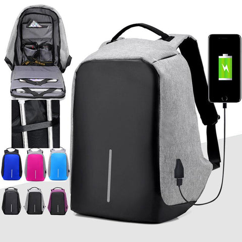 Anti Theft DSLR and Laptop Travel Backpack