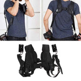 Quick Dual Camera Shoulder Strap