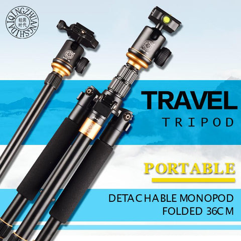 Tripod/Monopod with 360° Fluid Ball Head Mount