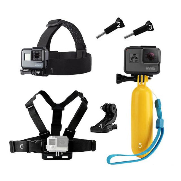 Accessories Kit for GoPro-Hero Action Camera