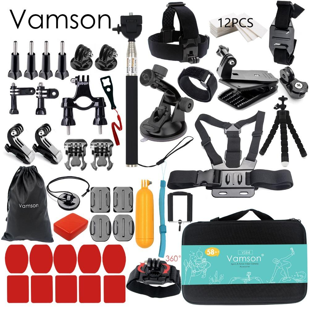 50-In-1 Action Camera Accessory Kit