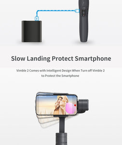 3-Axis Extendable Smartphone Stabilizer
