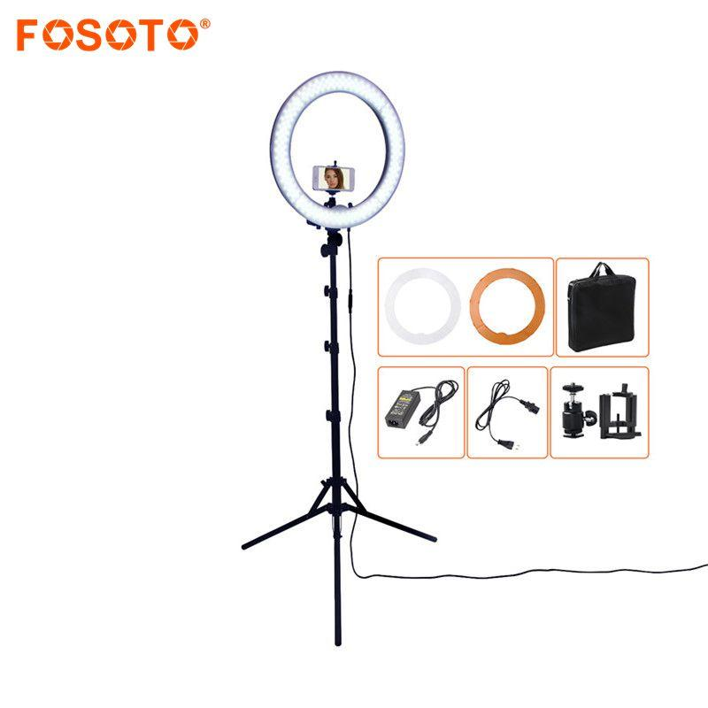 240 LED Photo Studio Dimmable Ring Light & Tripod