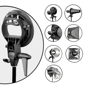 Mount Holder Bracket for Speedlite Flash