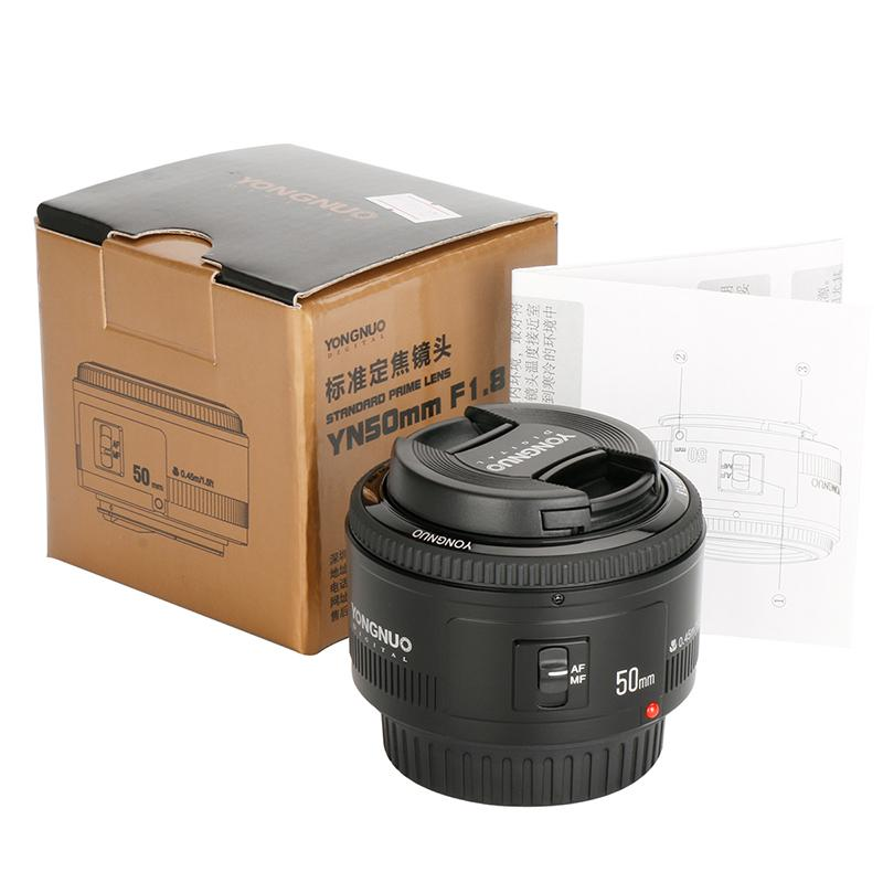 YONGNUO YN50mm F1.8 Lens EF 50mm for Canon DSLR