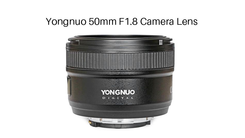 YONGNUO 50mm F1.8 Lens for Nikon DSLR