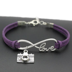 Infinity Love Photography Bracelet