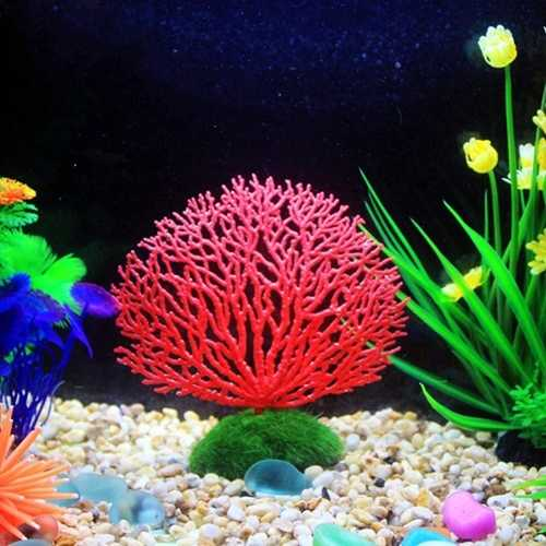 Seabed Simulation Coral Landscape Fish Tank Ornaments Aquarium Decoration Fish Tank Simulated Coral