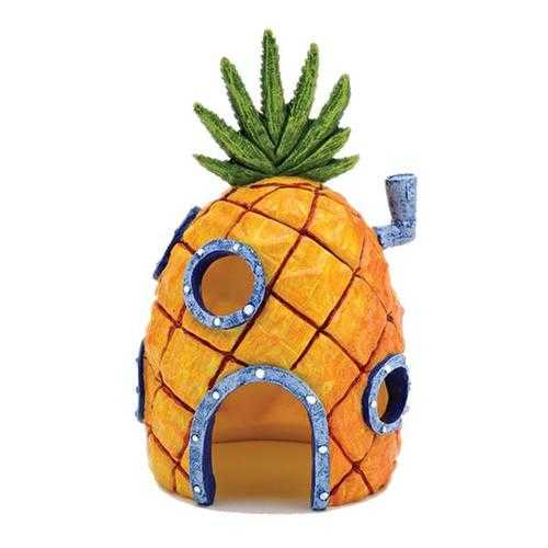 Yani Aquarium Decor Pineapple Home Ornament Fish Tank Dectoration Fish Hideaway Stone House