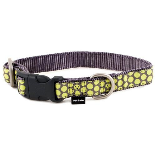 PetSafe Fido Finery Martingale Style Collar (3/4 Medium, Dotted Bliss)