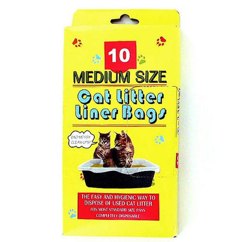 Litter Box Liner Bags ( Case of 48 )