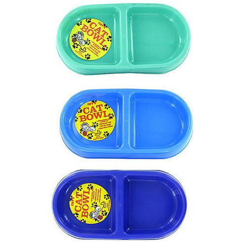 Double-Sided Cat Bowl ( Case of 24 )