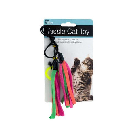 Hanging Tassel Cat Toy ( Case of 20 )