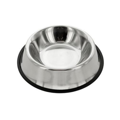 Stainless Steel Anti-Slip Pet Bowl ( Case of 5 )